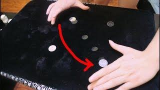 硬幣瞬間移動的魔術揭秘,苦惱多時終於知曉!(Coin instantly move the magic secret!)