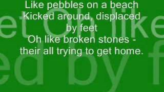 Broken Stones Lyrics