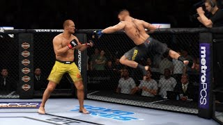ХУДШИЙ ИГРОК СНОВА В ДЕЛЕ UFC 3 ТОП 10000