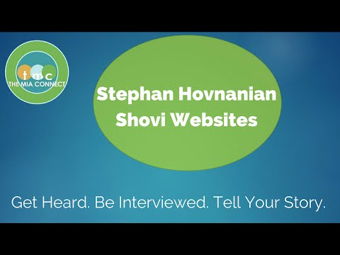 Give Your Web Presence Opposable Thumbs - Stephan Hovnanian - Shovi Websites