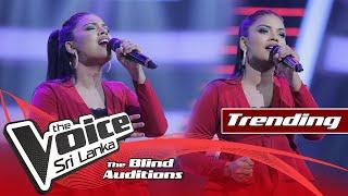 Ayisha Shamrin - Nadee Ganga Tharanaye (නදී ගංගා) | Blind Auditions | The Voice Sri Lanka Thumbnail