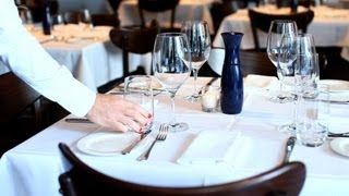 How to Wait Tables Restaurant Business