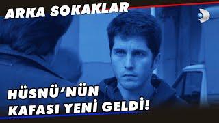 Zeliş ile Ardanın Flörtleşmesine KAFA ATAN Hüsnü - Arka Sokaklar 585. Bölüm