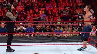WWE Wal3ooha: الحرب الكلامية مستمرة بين جون سينا و رومان رينز