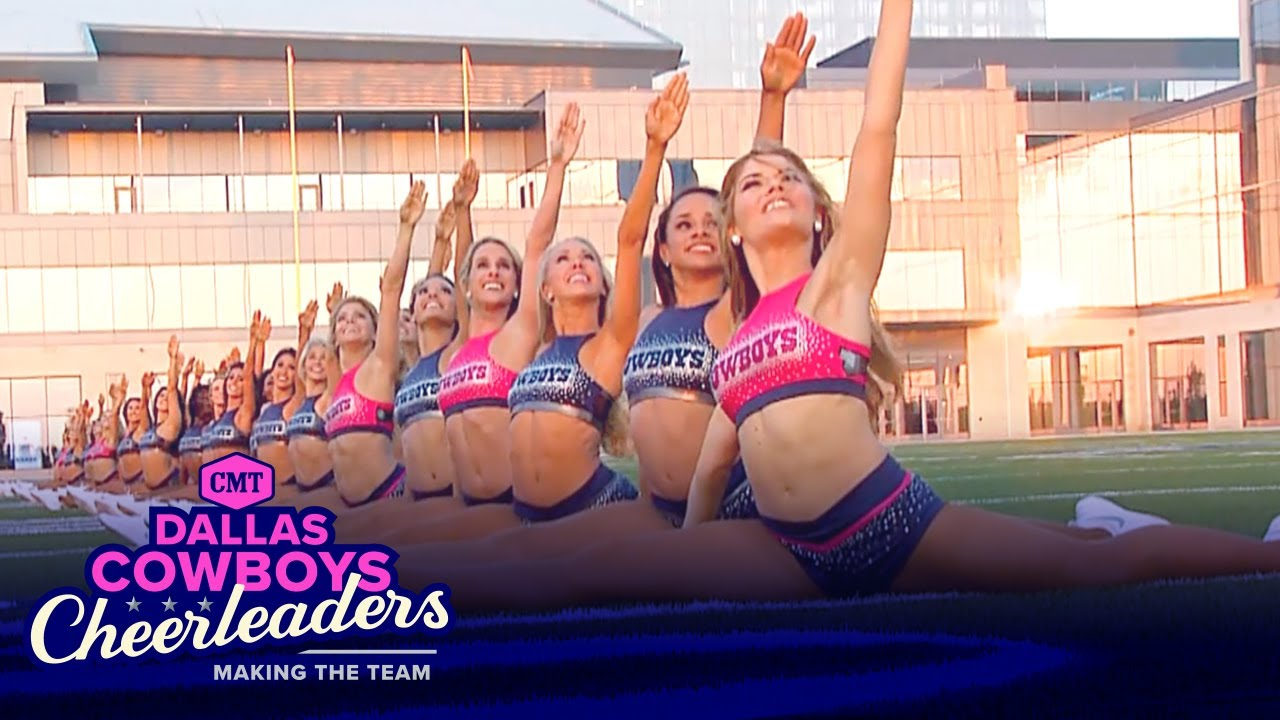 Rookies Try Jump Splits for the First Time (Season 12) 📣#DCCMakingTheTeam | CMT