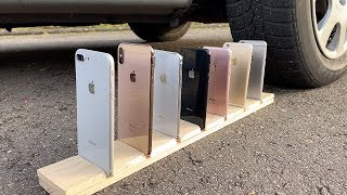 Many iPhones vs CAR thumbnail