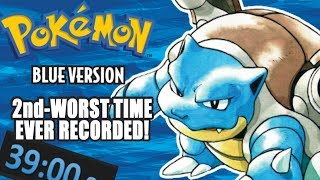 """The WORST Pokemon Blue """"Speedrun"""" You'll Ever See!"""