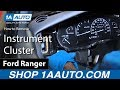 How to Replace Instrument Cluster 93-03 Ford Ranger