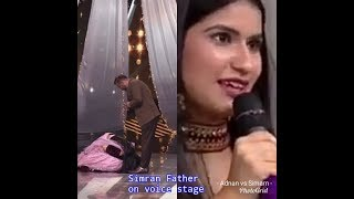 Simran Choudhary /Father / Emotional Moment /only on the voice