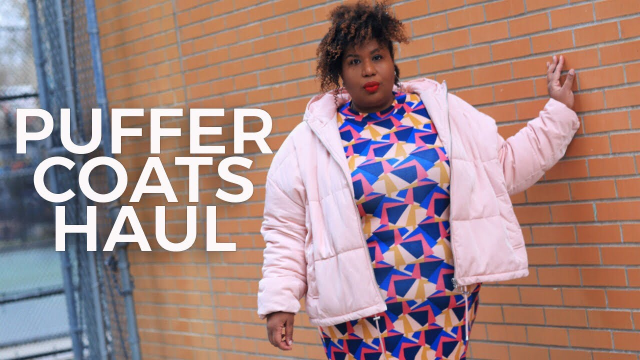 [VIDEO] - CUTE PLUS SIZE PUFFER COATS TO KEEP THE WINTER BLUES AWAY   Vlogmas Day 13 2