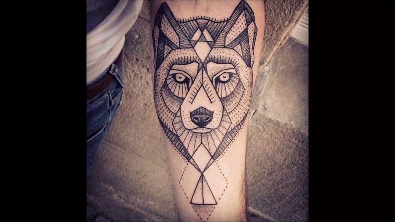 Los Mejores Tatuajes Geométricos De Animales Youtube