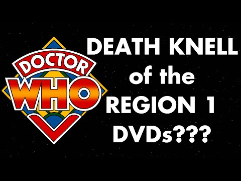 Doctor Who - DEATH KNELL of the Region 1 DVDs???