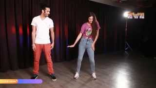 Inspired by Shahrukh Khan and Farah Khan, Saahil Prem and Amrit Maghera show off dance moves