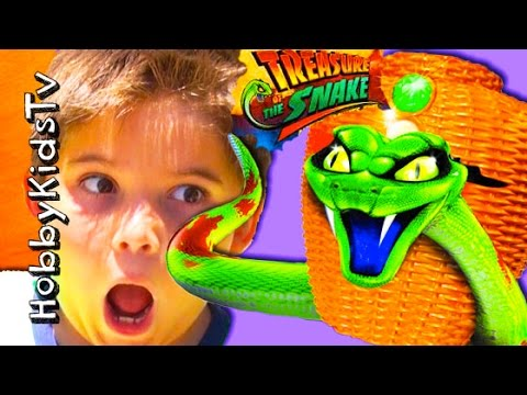 TREASURE of the Snake Game with HobbyKids