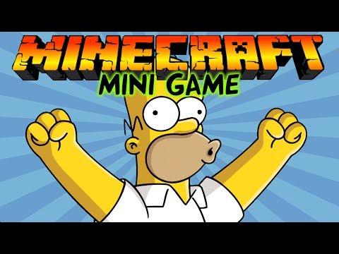 СИМПСОНЫ в Майнкрафт: Мини игры [The Simpsons]