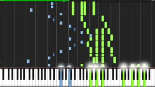 Odds & Ends - Hatsune Miku  Piano Tutorial   Synthesia  // Theishter