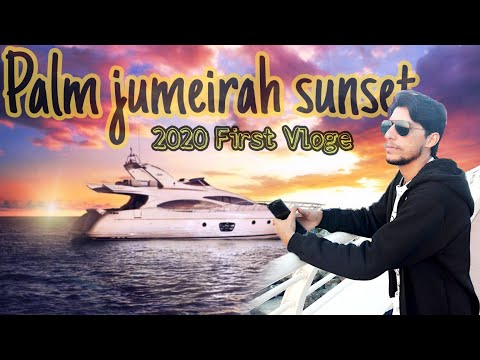 Dubai Palm jumeirah sunset 2020 Dubai tour 2020 with M Ghafoor  4k  FHD  #goharinfo #expo2020