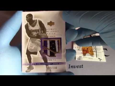 Ultimate Collection Upper Deck 2003-04 Basketball Opened!
