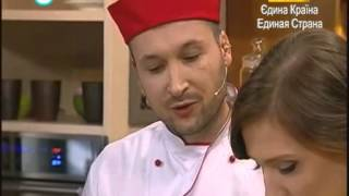 Луковый суп и Пирог из сладкого лука от Дмитрия Попова - Шеф-повар на К1