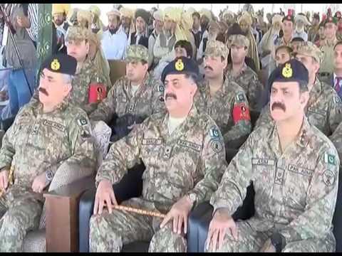 COAS Raheel inaugurates Cadet College Spinkai, South Waziristan