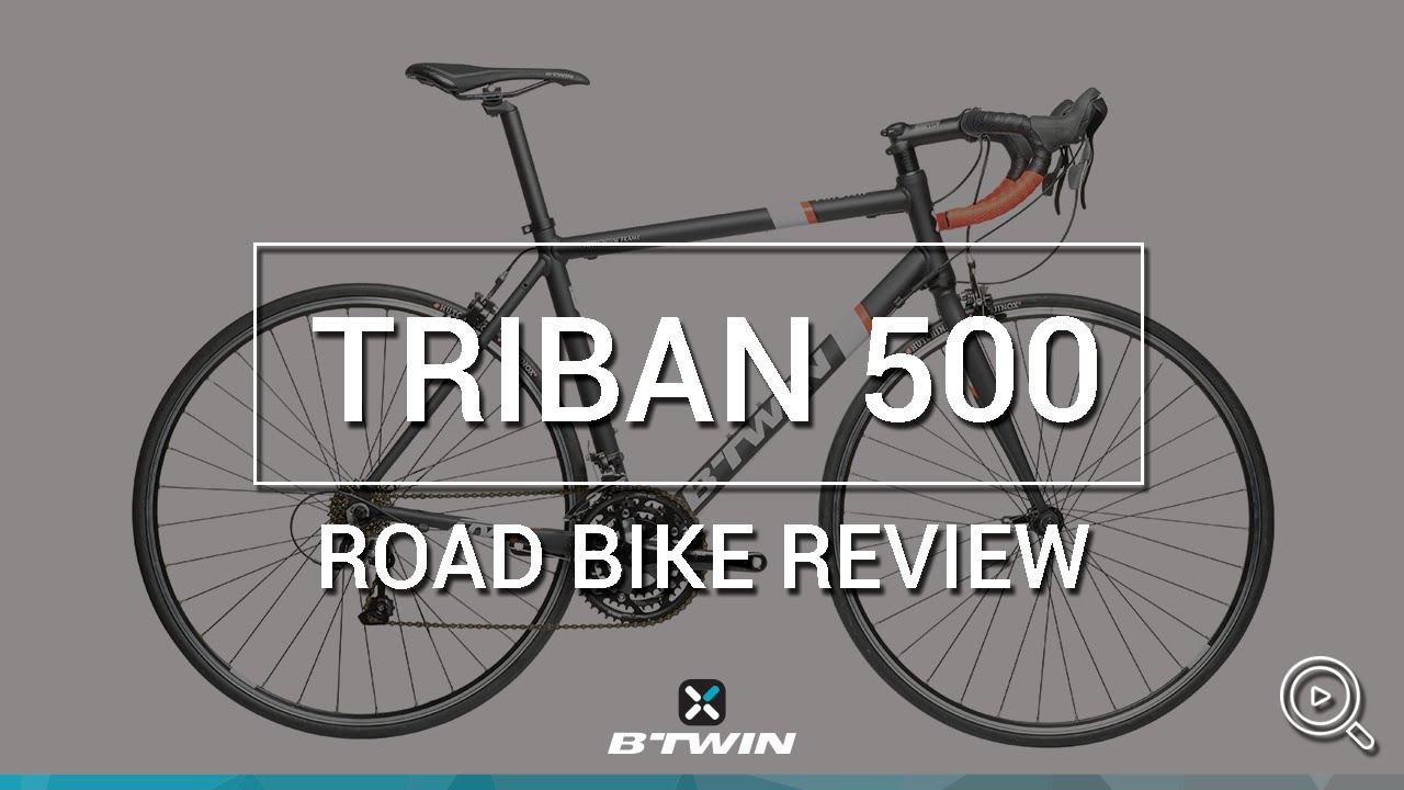 Velo Route Triban 500 B Twin Road Bike Triban 500 B Twin Youtube