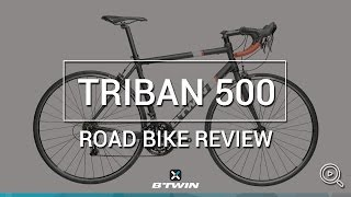 Vélo route Triban 500 B'TWIN // Road bike Triban 500 B'TWIN
