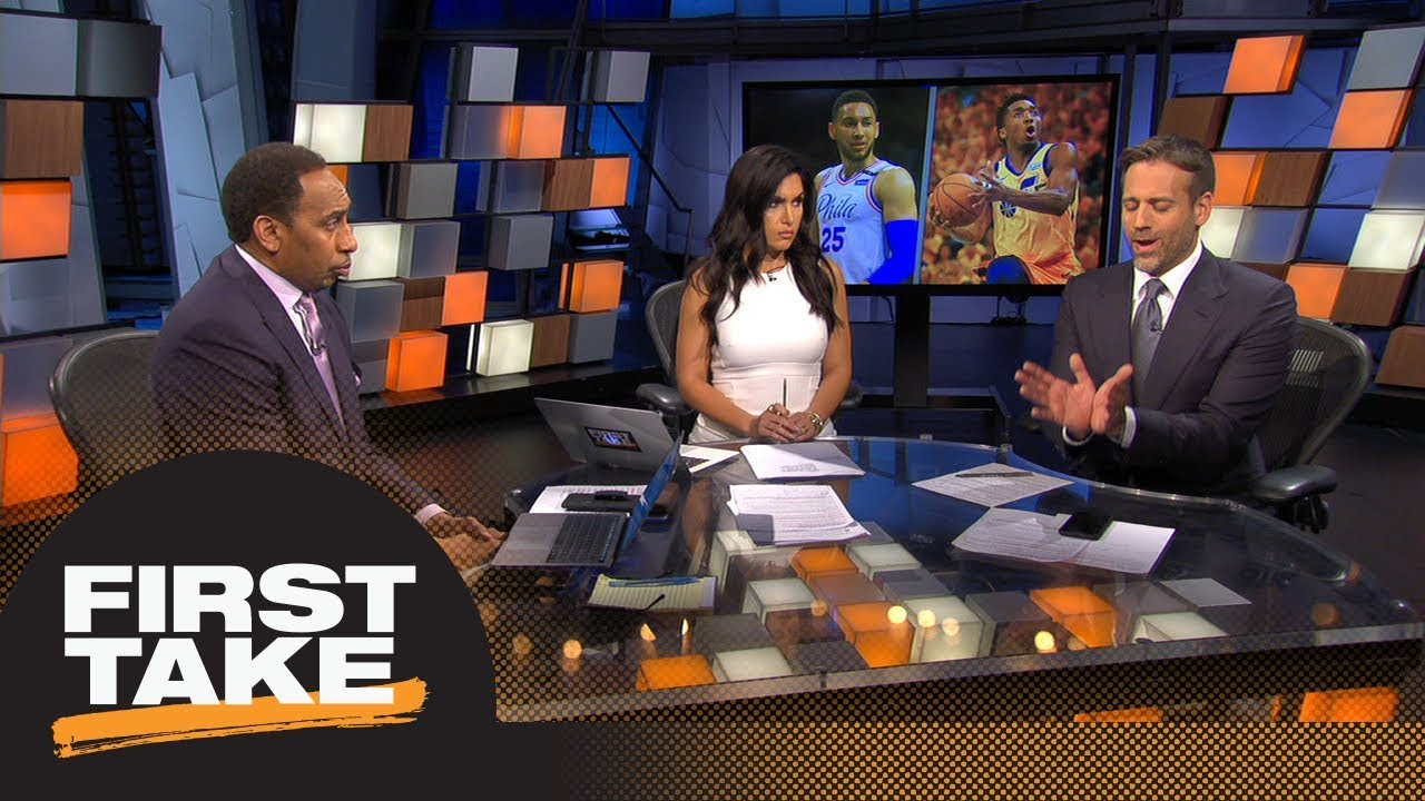 Stephen A. Smith goes with Donovan Mitchell as 2018 NBA Rookie of the Year | First Take | ESPN