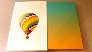 esp bts young forever day ver unboxing completo