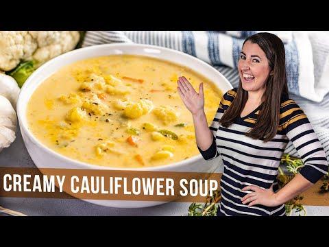 How To Make Creamy Cauliflower Soup