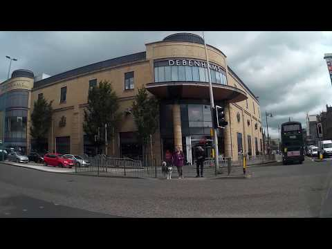 Drive Down Perth Road To University Campus Dundee Tayside Scotland