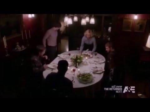 Family Dinner - Part 1 - Dylan & Emma (Bates Motel 3x07)