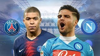 PSG vs Napoli match highlight 2018-11-07