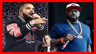 drake exposed by funk flex eminem diss hot 97 freestyle rant p diddy fight