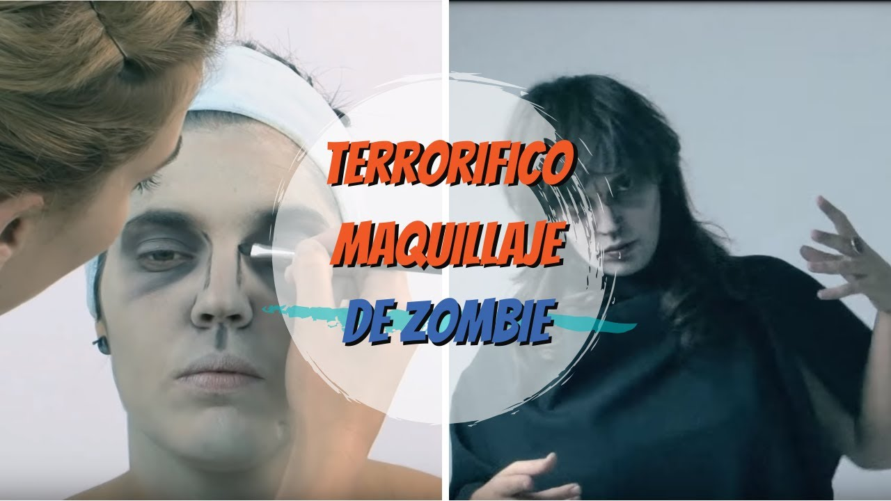 maquillaje zombie mujer paso a paso