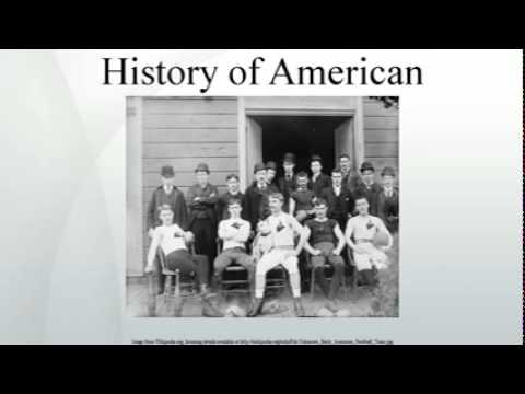 history of american football essay Featured page featured page description text : use the page excerpt or set your own custom text in the customizr screen read more.