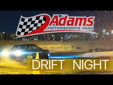 Adams Raceway Drift Night - Riverside CA - Canon C100mkii