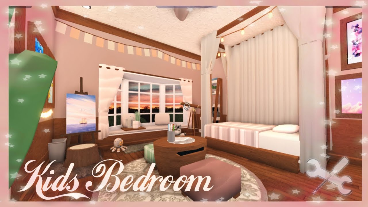 ゚ Bloxburg Speed Build Kid S Bedroom 12k ゚ Youtube