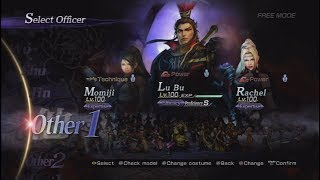 Warriors Orochi 3 Ultimate All Characters [PS3]