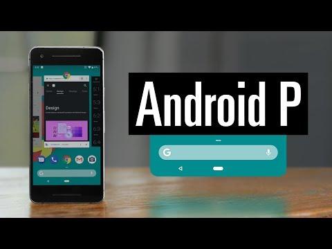 Обзор Android P Beta (DP2)