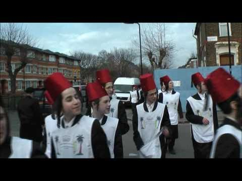Purim in Stamford Hill 2011
