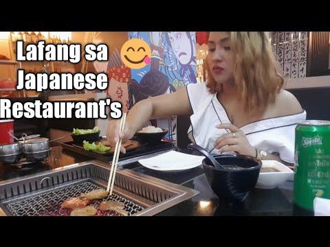 Vlog#12 / First time in  Japanese Yakiniku Restaurant  Bangkok Thailand   Filipina Diary
