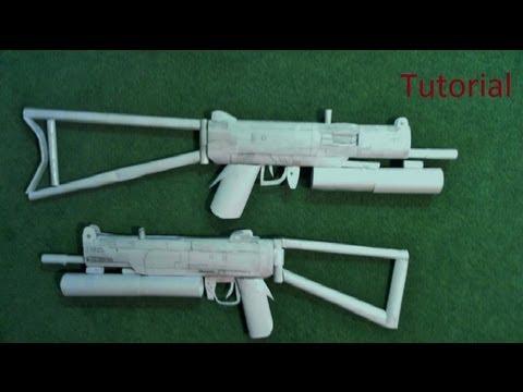 Paper StA 11 Submachine Gun Tutorial