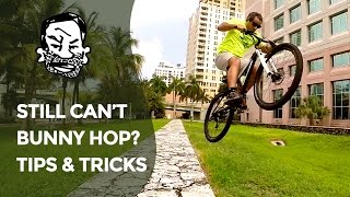 How to bunny hop a mountain bike - tips & mistakes