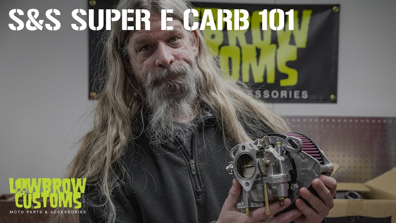 VIDEO: S&S Super E Carburetor 101: Disassembly, Walk Through