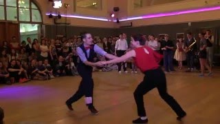 Fast Tempo Part of Lindy Hop Advanced Strictly Finals at Russian Swing Dance Championship 2016