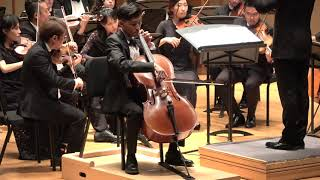 Haydn Cello Concerto in C Major performed by Jiwoo You & LA Sinfonietta