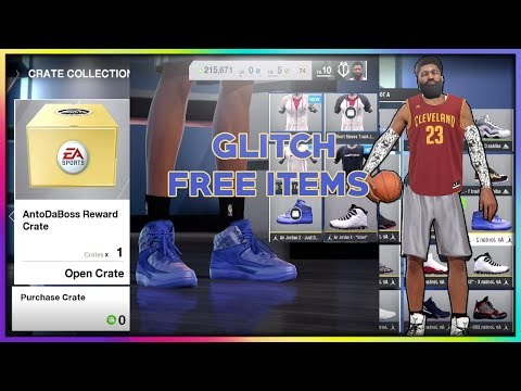 NBA LIVE 18 CRATE GLITCH!!! - UNLOCK ALL GEAR / CLOTHES AND SHOES