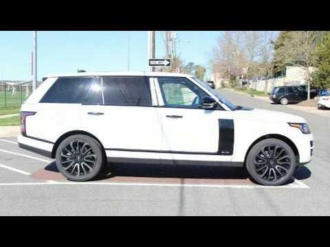 2017 Land Rover Range V8 Awd Long Wheel Base