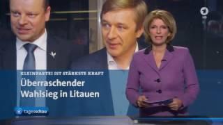 Litauen: Bund der Bauern und Grünen gewinnt Parlamentswahlen