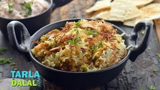 Vegetable Biryani by Tarla Dalal